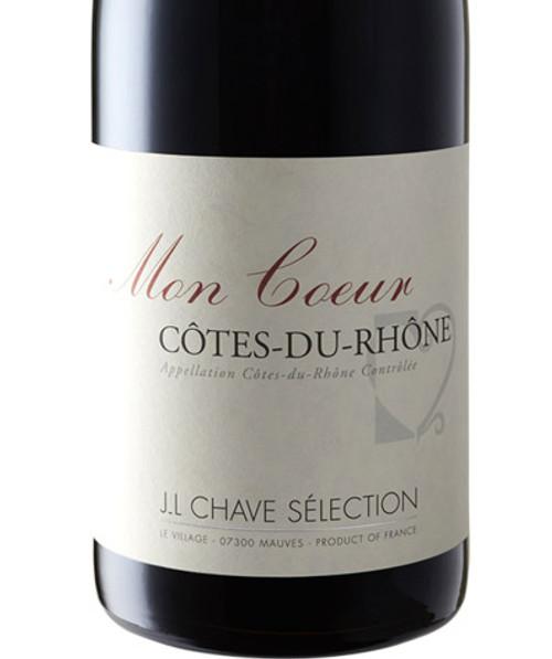 Chave/J.L. Sélection Côtes-du-Rhône Mon Coeur 2018