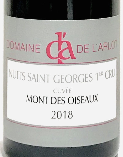 L'Arlot Nuits-St-Georges 1er cru Mont des Oiseaux 2018