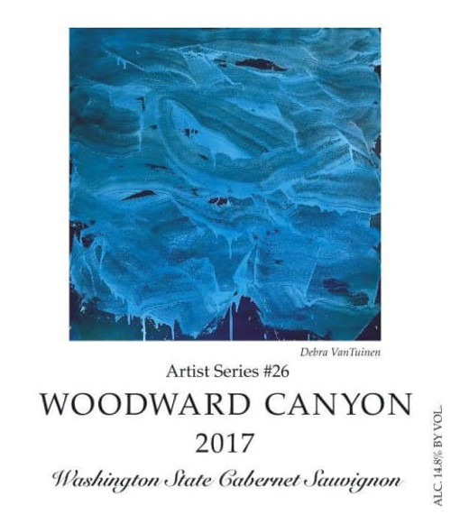 Woodward Canyon Cabernet Sauvignon Columbia Valley Artist Serie 2017