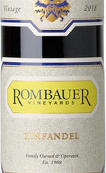 Rombauer Zinfandel California 2018