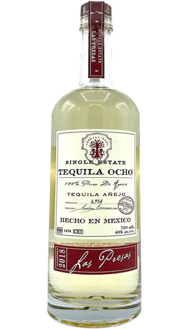 Ocho Single Estate Añejo Tequila Las Presas (2018)