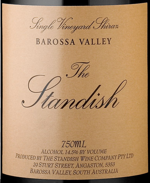 Standish Shiraz Barossa Valley The Standish 2017