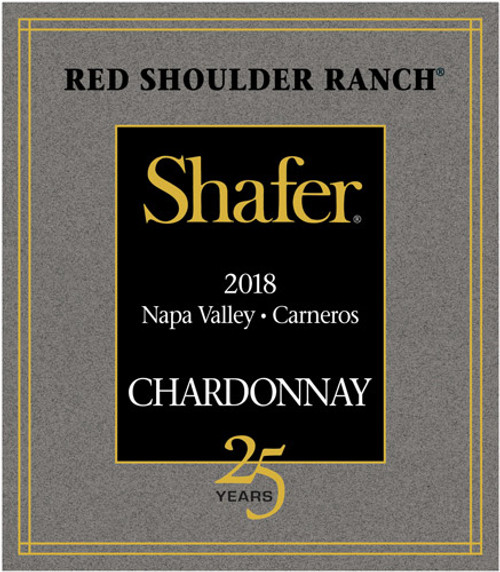 Shafer Chardonnay Napa Valley Carneros Red Shoulder Ranch 2018