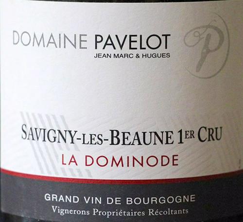 Pavelot Savigny-lès-Beaune 1er cru La Dominode 2018