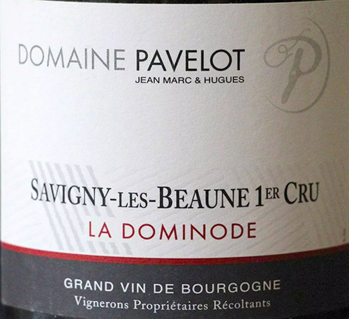 Pavelot Savigny-lès-Beaune 1er cru La Dominode 2018 375ml