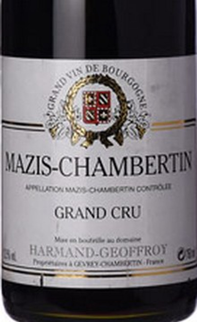 Harmand-Geoffroy Grand Cru Mazis-Chambertin 2018