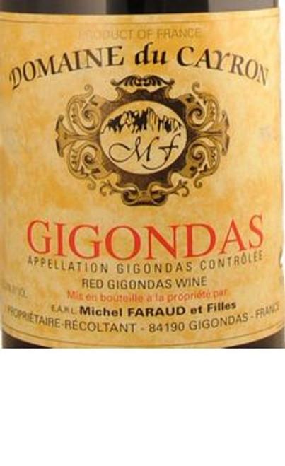 Domaine du Cayron Gigondas 2017