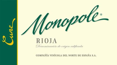 Cune Rioja Blanco Monopole 2019