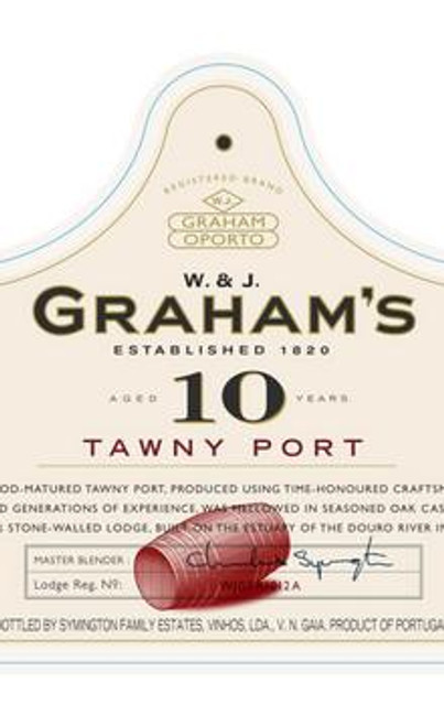 Graham's 10-Year Tawny Port NV