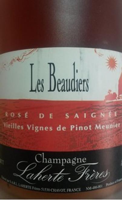 Laherte Frères Brut Rosé de Saignée Champagne Beaudiers NV