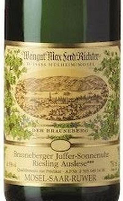 Richter/Max Ferd. Riesling Auslese Brauneberger Juffer-Sonnenuhr 2018