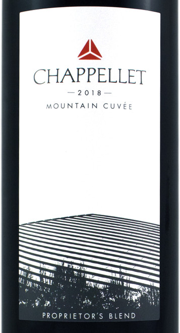 Chappellet Mountain Cuvée Napa Valley 2018