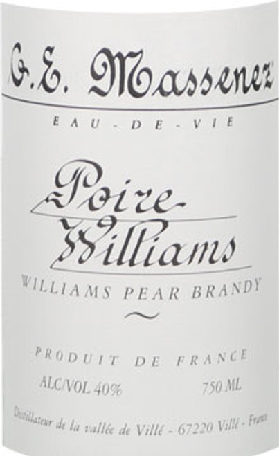 G. E. Massenez Poire-Williams Pear Brandy