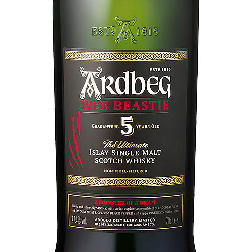 Ardbeg Wee Beastie 5 Year Old Single Malt Scotch Islay