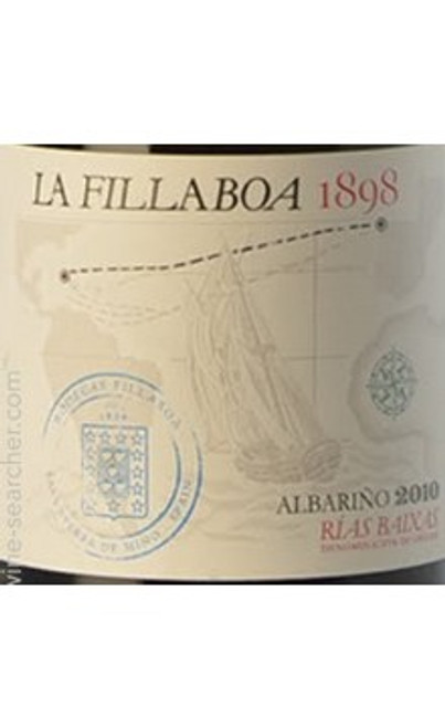 Fillaboa Albariño Rías Baixas La Fillaboa 1898 2010