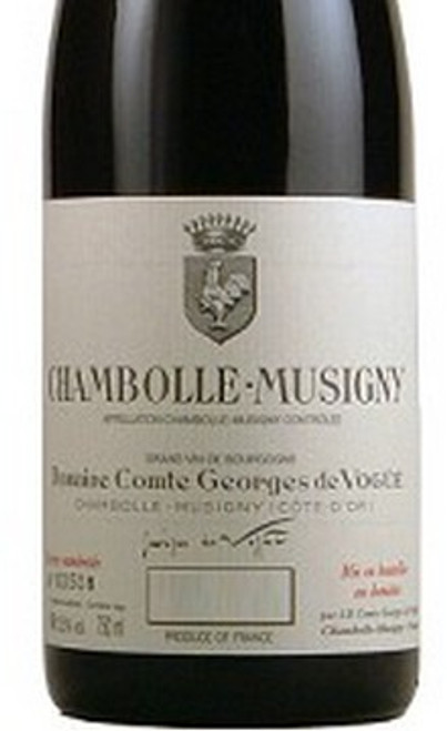 Vogüé Chambolle-Musigny 2018
