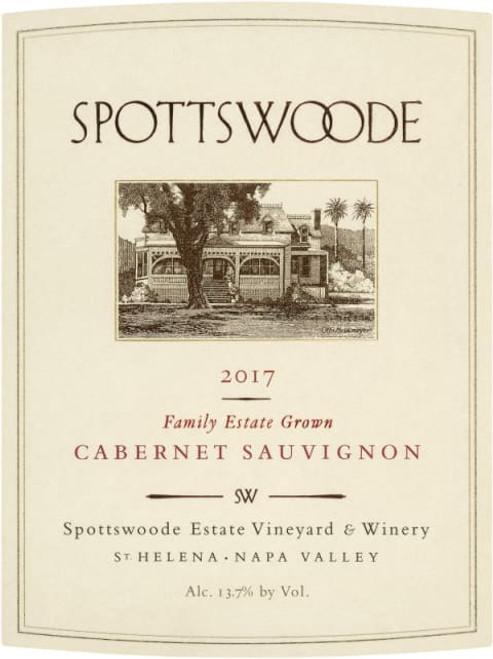 Spottswoode Cabernet Sauvignon Napa Valley Estate 2017