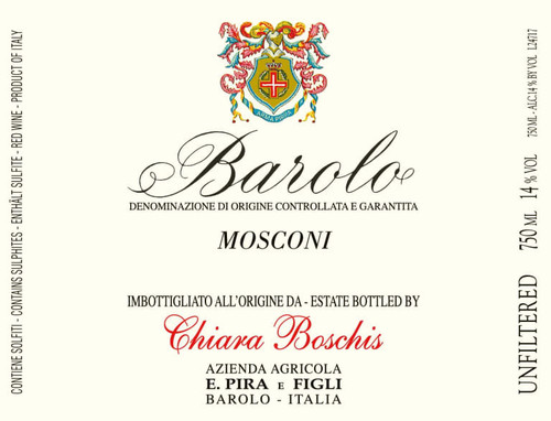 Pira-Chiara Boschis Barolo Mosconi 2016