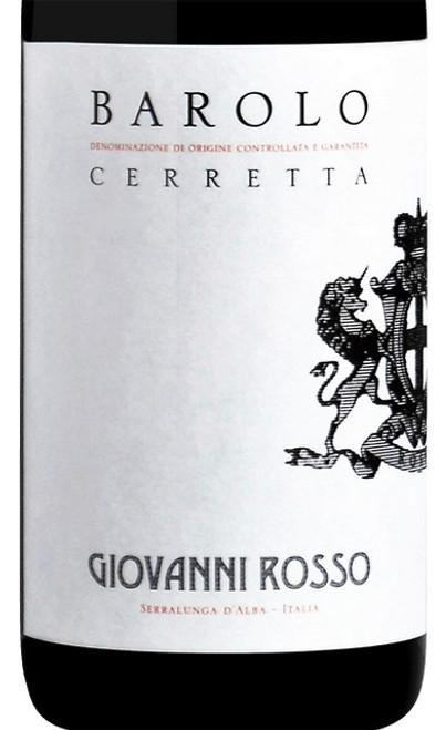 Rosso/Giovanni Barolo Cerretta 2016