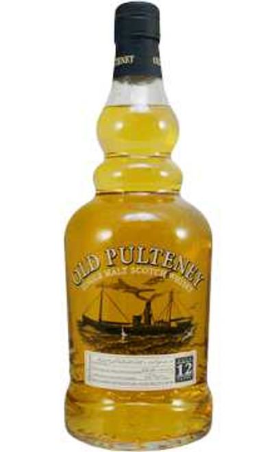 Old Pulteney Single Malt Scotch 12 Year Old 86 Proof