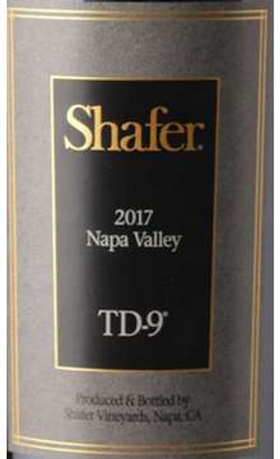Shafer TD-9 Napa Valley 2017