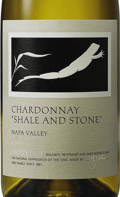 Frog's Leap Chardonnay Napa Valley Shale and Stone 2018