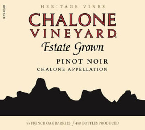 Chalone Pinot Noir Monterey County Estate 2018