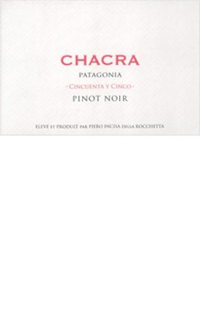 Chacra Pinot Noir Patagonia Cincuenta y Cinco 2018