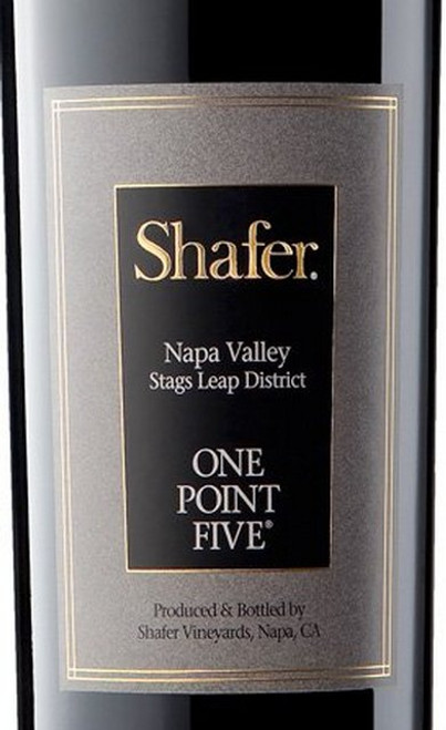 Shafer Cabernet Sauvignon Napa Valley One Point Five 2017