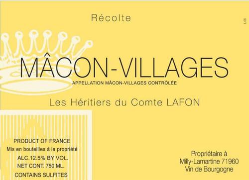 Héritiers du Comte Lafon Mâcon-Villages 2019