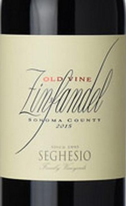 Seghesio Zinfandel Sonoma County Old Vine 2015
