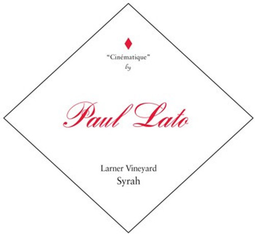 Paul Lato Syrah Ballard Canyon Larner Vineyard Cinematique 2017