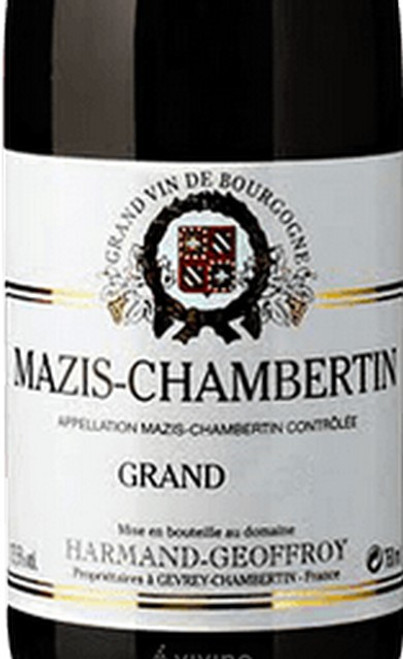 Harmand-Geoffroy Mazis-Chambertin Grand Cru 2017