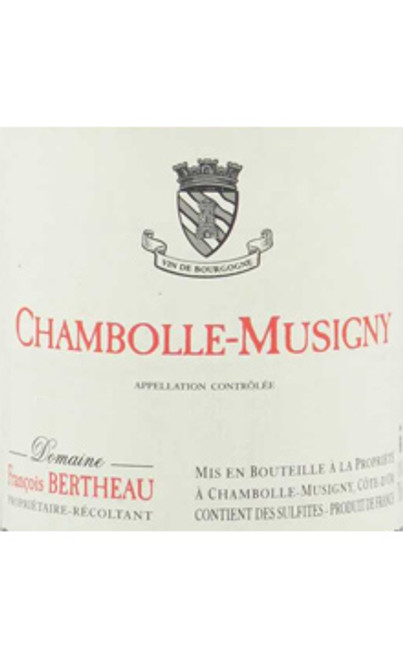 Bertheau/François Chambolle-Musigny 2017