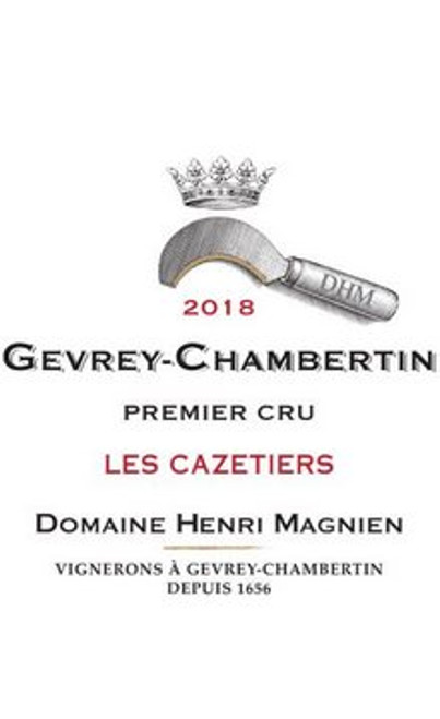 Magnien/Henri Gevrey-Chambertin 1er cru Les Cazetiers 2018 3L