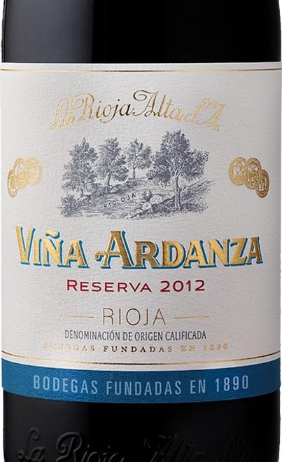 La Rioja Alta Rioja Viña Ardanza Reserva 2012