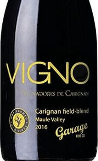 Garage Wine Co. Cariñena (Carignan) Vigno Fiel-Blend 2016