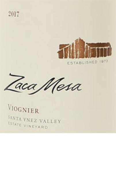 Zaca Mesa Viognier Santa Ynez Valley 2017