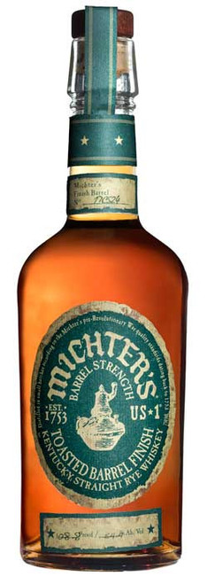 Michter's Straight Rye Whiskey Toasted Barrel Finish