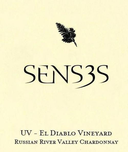 Senses Chardonnay El Diablo Sonoma Coast UV Vineyard 2018