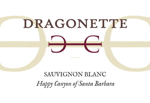 Dragonette Sauvignon Blanc Happy Canyon of Santa Barbara 2019
