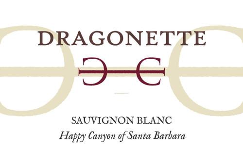 Dragonette Sauvignon Blanc Happy Canyon of Santa Barbara 2019