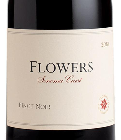 Flowers Pinot Noir Sonoma Coast 2018