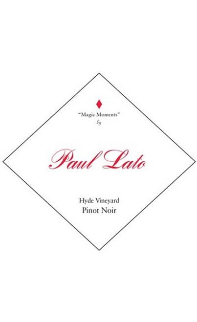 Paul Lato Pinot Noir Carneros Hyde Vineyard Magic Moments 2018