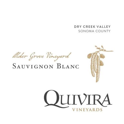 Quivira Sauvignon Blanc Dry Creek Valley Alder Grove Vineyard 2018