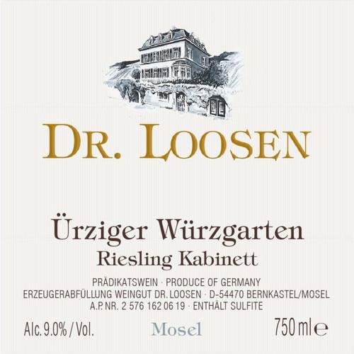 Dr. Loosen Riesling Kabinett Ürziger Würzgarten 2019
