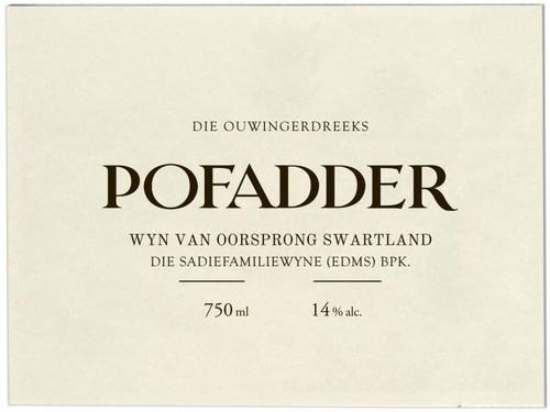 Sadie Family Pofadder (Cinsault) Swartland 2018