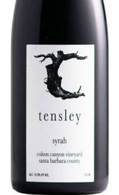 Tensley Syrah Santa Barbara County Colson Canyon Vineyard 2019