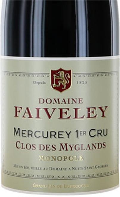 Faiveley Mercurey 1er cru Clos des Myglands 2017