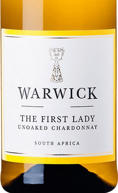 Warwick Unoaked Chardonnay The First Lady Western Cape 2018